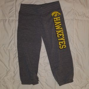 Pants - Iowa Hawkeye capri sweats